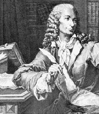 François-Marie Arouet de Voltaire, French Enlightenment writer, historian and philosopher